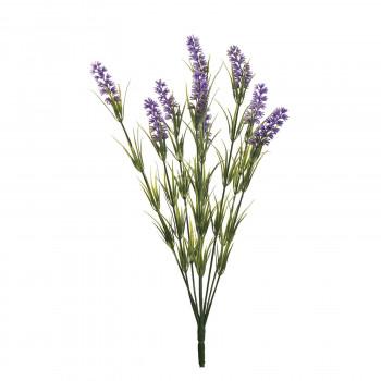 Веточка лаванды с 9 цветками 46 см 8J-12MB0001