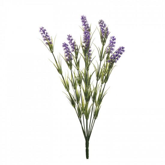 Веточка лаванды с 9 цветками 46 см 8J-12MB0001 в интернет-магазине ROSESTAR фото