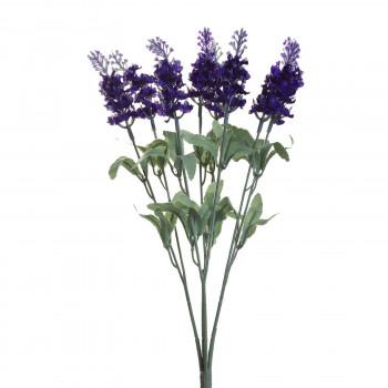 Веточка лаванды с 8 цветками 35 см 8J-1105B0031