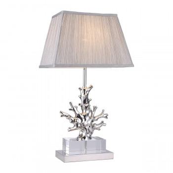 Настольная лампа со светло-серым абажуром K2BT-1004