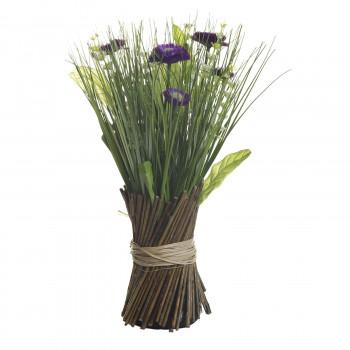 Букет маргариток фиолетовых  30 см 8J-12AK0002