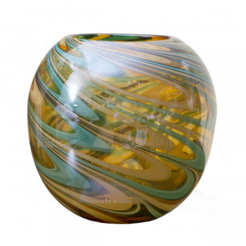 Стеклянная цветная ваза H23D26 HJ360-25-G3