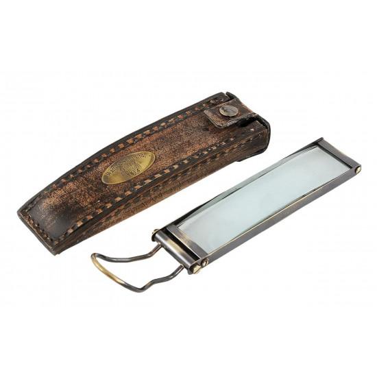 Ручная экранная лупа в кожаном футляре 16,8х5,5х2,5 IK45888 в интернет-магазине ROSESTAR фото
