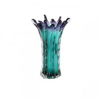 Стеклянная ваза 21х34 KL2134