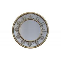 Круглое декоративное зеркало-солнце 30х2,2 M801