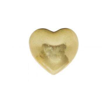 Декоративный элемент Сердечко золотое 7,6*7,1*4,6 D0805