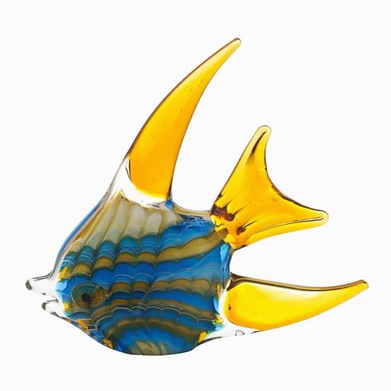 Статуэтка Рыба желто-голубая 23*4*23,5 F5442  в интернет-магазине ROSESTAR фото