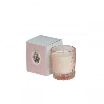 Ароматическая свеча Ландыш и роза 7,5*7,5*9 см. F15S-LR014A