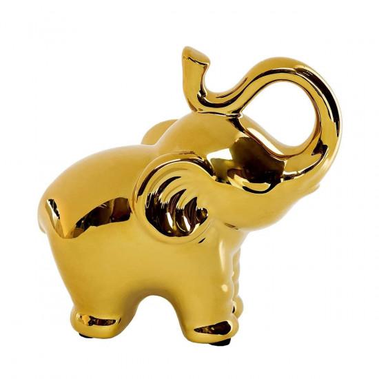 Статуэтка Слон золотая 13.5*7*13 10K9115B  в интернет-магазине ROSESTAR фото