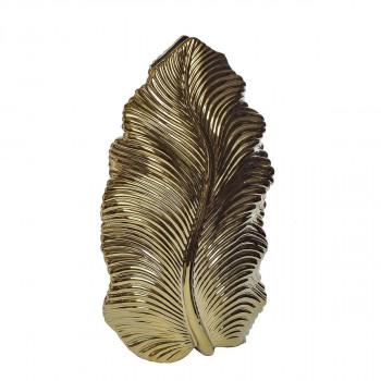 Керамическая золотая ваза 25.5*12*44.5 10K9125B