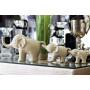 Статуэтка Слоники бежевые набор 10K8869/8872AB  в интернет-магазине ROSESTAR фото 1