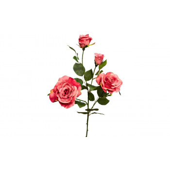 Роза нежно-розовая, 80см 9F27009M-2093