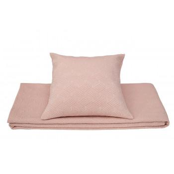 Декоративная розовая наволочка 50*50 16AMR-PAPILLON N.05V-ROS