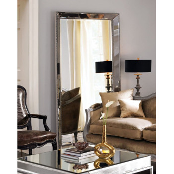 Большое напольное зеркало в зеркальной раме в полный рост Уилшир