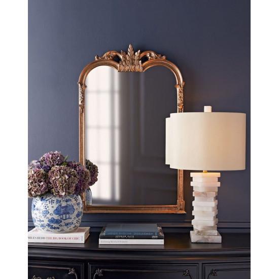 Зеркало в золотой раме Жером в интернет-магазине ROSESTAR фото
