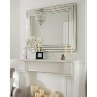 Венецианское зеркало в раме Пасадена Серебро