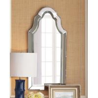 Зеркало венецианское в зеркальной фигурной раме Лексингтон