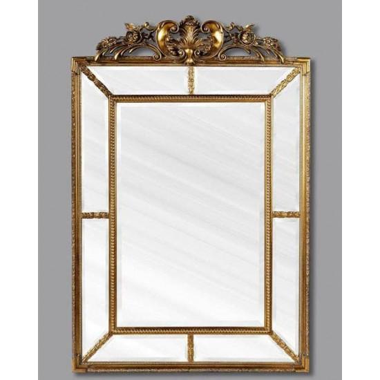 """Зеркало настенное в раме """"Ланкастер"""" Античное Золото в интернет-магазине ROSESTAR фото"""