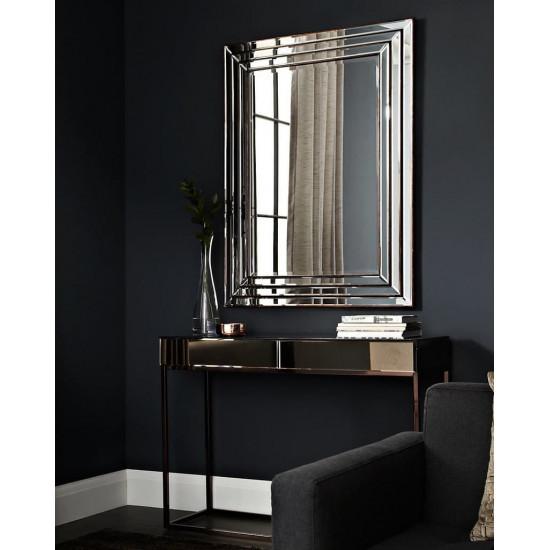 Консоль зеркальная на металлическом каркасе Герберт в интернет-магазине ROSESTAR фото