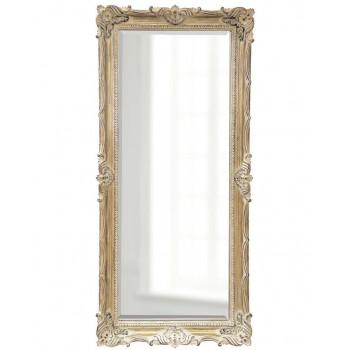 """Зеркало напольное в классической раме в полный рост """"Флавио"""" Artisan Ivory"""