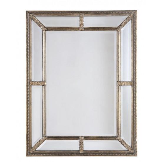 """Настенное зеркало в раме """"Ларри"""" Золото в интернет-магазине ROSESTAR фото"""