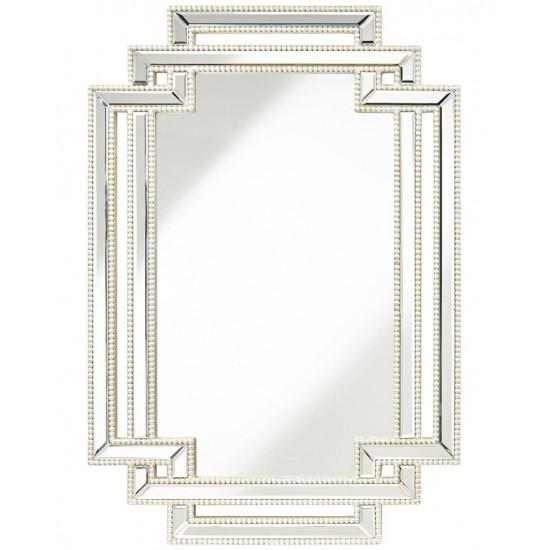 """Дизайнерское стильное настенное зеркало в оригинальной раме """"Лацио"""" в интернет-магазине ROSESTAR фото"""