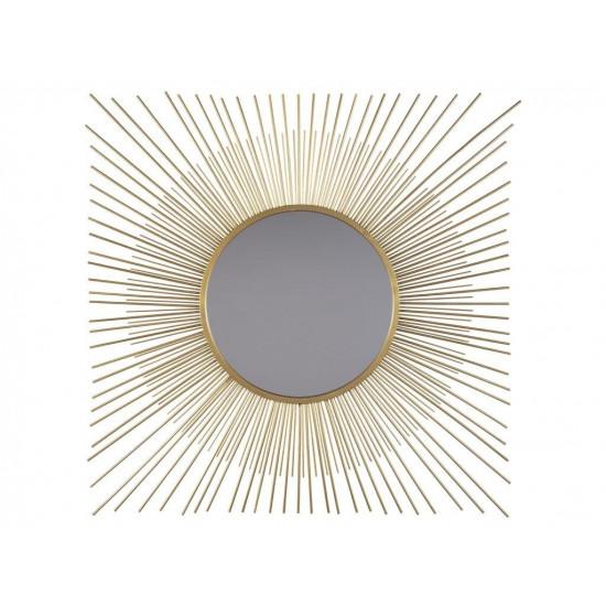 """Зеркало солнце в дизайнерской раме """"Солерно"""" в интернет-магазине ROSESTAR фото"""