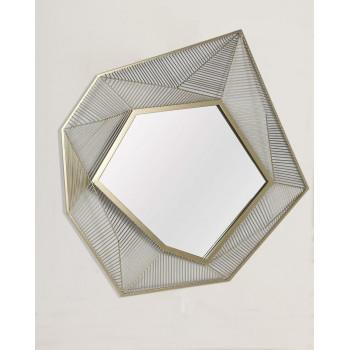 """Дизайнерское уникальное зеркало настенное в оригинальной раме """"Кэссиди"""""""