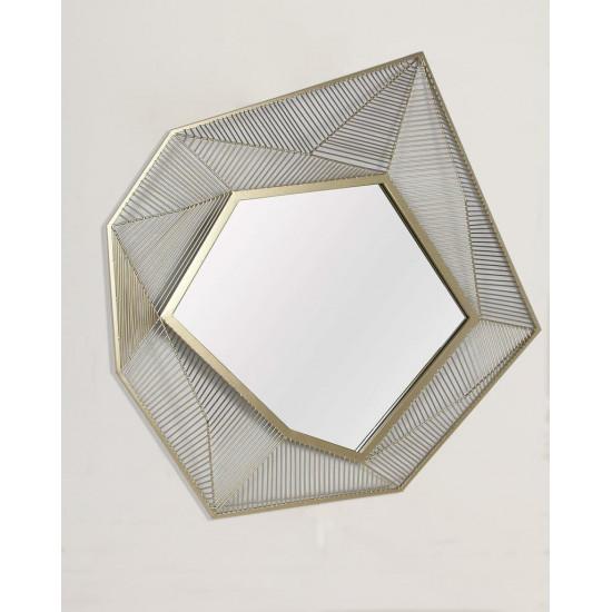 Дизайнерское уникальное зеркало настенное в оригинальной раме Кэссиди