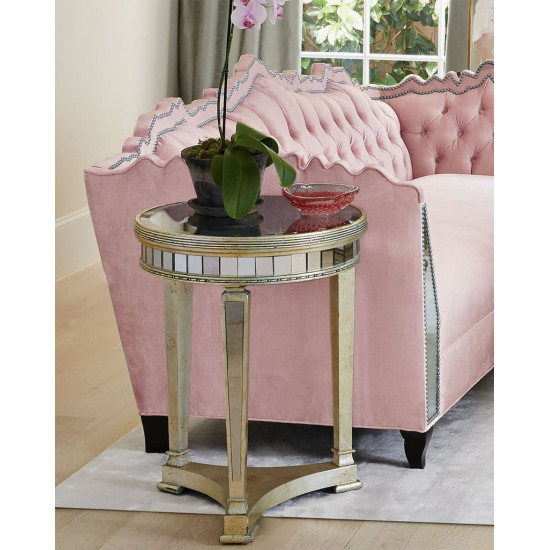Кофейный столик круглый Карсон в интернет-магазине ROSESTAR фото