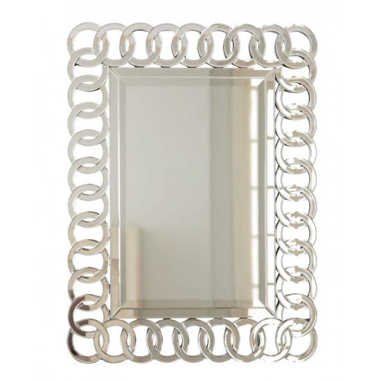 """Настенное дизайнерское зеркало """"Огюст"""" в интернет-магазине ROSESTAR фото"""