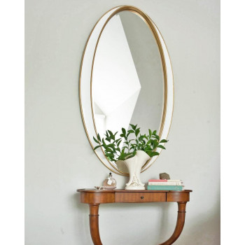 """Овальное зеркало в раме  """"Дита"""""""