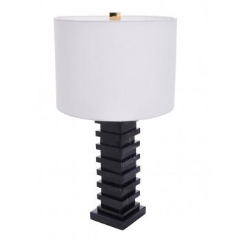 Настольная лампа Анабель Чёрная