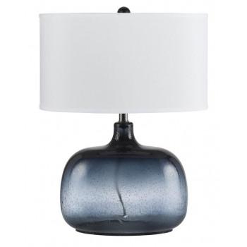 Настольная лампа Зельда Голубая