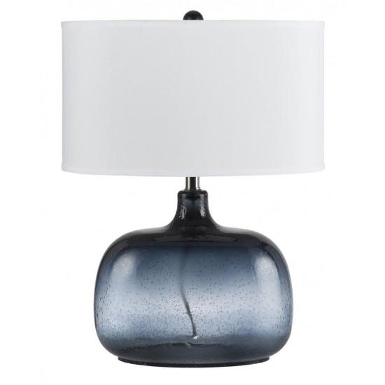 Настольная лампа Зельда Голубая в интернет-магазине ROSESTAR фото