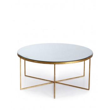 Кофейный столик круглый Эшли