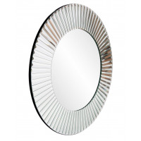 Круглое зеркало в зеркальной раме Теодор