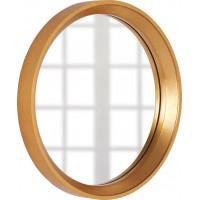 Круглое зеркало в золотой раме Арадео