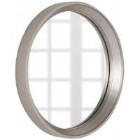 Круглое зеркало в серебряной раме Арадео