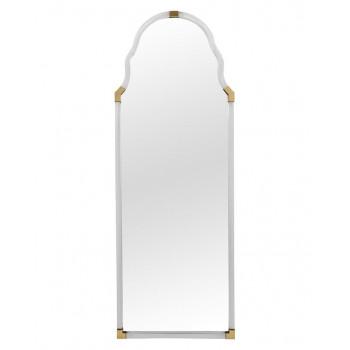 Напольное зеркало в полный рост в золотой раме Поллок Gold