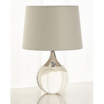 Настольная лампа Милуоки Серебро silver