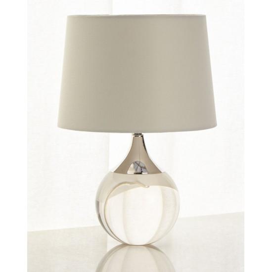 Настольная лампа Милуоки Серебро silver в интернет-магазине ROSESTAR фото