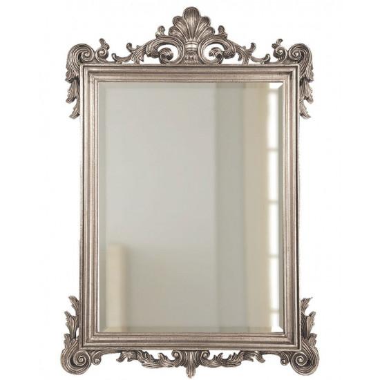 """Зеркало в серебряной раме """"Марсель"""" Серебро в интернет-магазине ROSESTAR фото"""