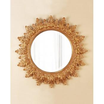 """Круглое настенное зеркало в раме """"Альба"""""""
