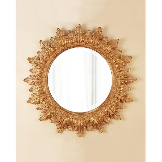 """Круглое настенное зеркало в раме """"Альба"""" в интернет-магазине ROSESTAR фото"""