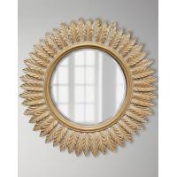 Модное круглое зеркало Барклай  Золото