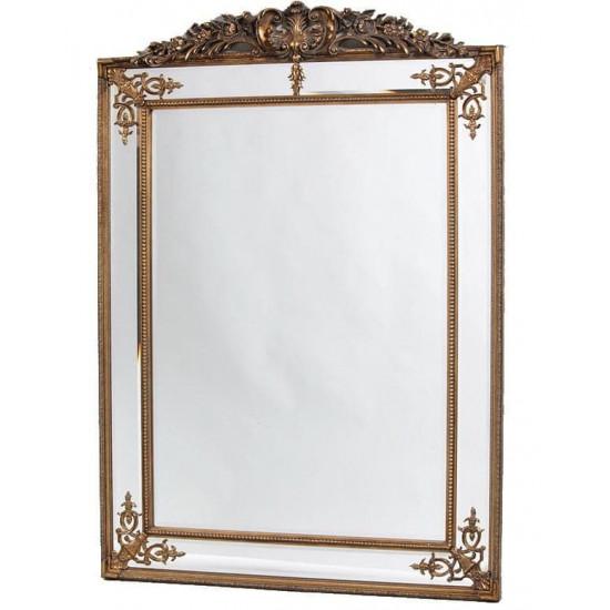 """Напольное зеркало в полный рост """"Дилан"""" Античное золото в интернет-магазине ROSESTAR фото"""