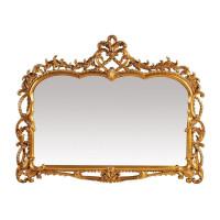 Модное зеркало в золотой раме Жаклин