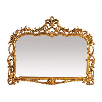 """Зеркало в золотой раме """"Жаклин"""" Античное Золото"""