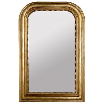 """Зеркало настенное дизайнерское в раме """"Луи-Филипп"""" Золото"""